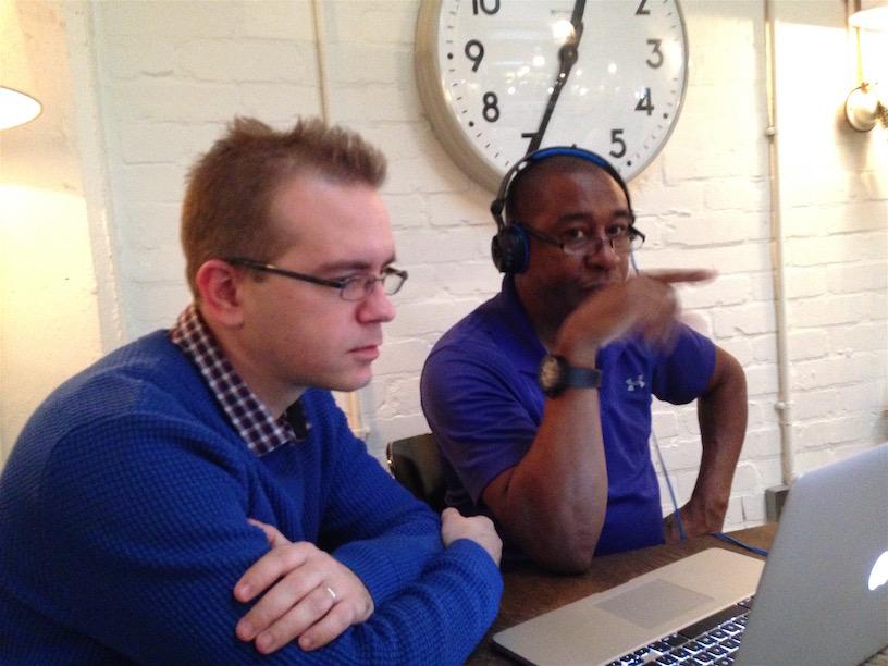 editing with Mervyn Lyn